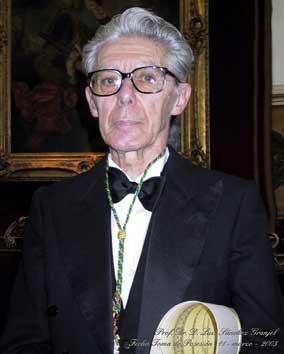 Luis Sánchez Granjel. Imagen procedente del  Banco de imágenes de la Real Academia Nacional de Medicina