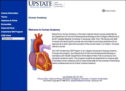 Nuevos recursos para los estudiantes de anatomía humana – Medicina ...