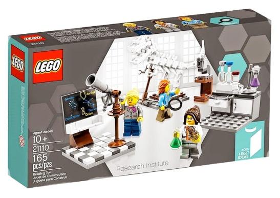 Lego Instituto de Investigación. Mujeres científicas